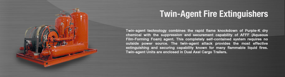 Twin Agent Fire Extinguisher