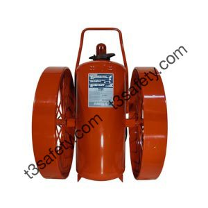 350 lb. PK Wheeled Fire Extinguisher Unit