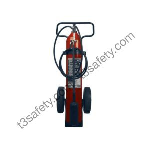 50 lb. Co2 Wheeled Fire Extinguisher Unit