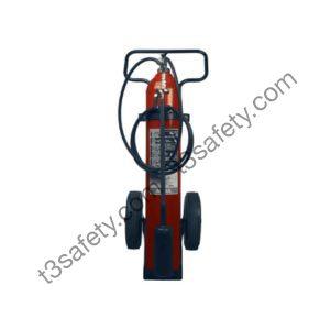 50 lb. Co2 Wheeled Fire Extinguisher Unit