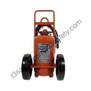125 lb. ABC Wheeled Fire Extinguisher Unit (CR-I-A-150-D-1)