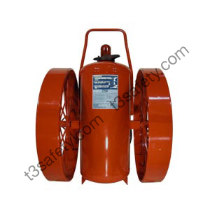 350 lb. ABC Wheeled Fire Extinguisher Unit (CR-WW-I-A-350-C)
