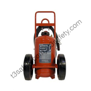 125 lb. PK Wheeled Fire Extinguisher Unit