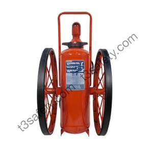 150 lb. PK Wheeled Fire Extinguisher Unit