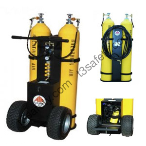 LARGE CYLINDER AIR CART T3 Safety Rentals Ltd.