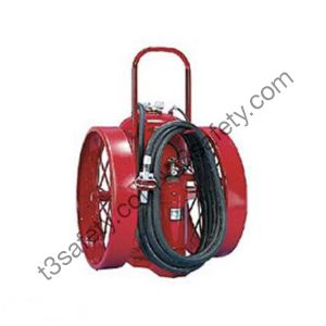300 lb. PK Wheeled Fire Extinguisher Unit