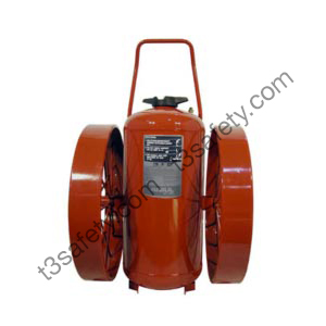 350 lb. ABC Wheeled Fire Extinguisher Unit (CR-WW-LR-I-A-350-D-1)