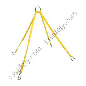 basket litter stretcher lifting bridle